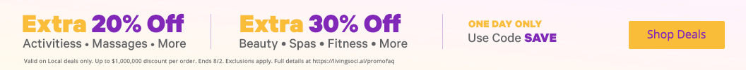Up to an EXTRA 30% Off with Promo Code
