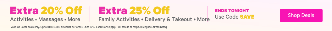 Up to an EXTRA 25% Off with Promo Code