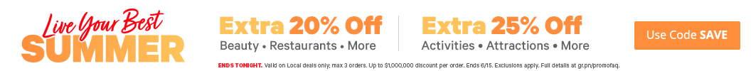 EXTRA 20% Off with Promo Code