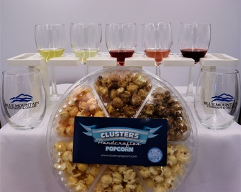 Wine and Gourmet Popcorn Pairing at Blue Mountain Vineyards & Cellars (Up to 40% Off). Four Options Available. photo