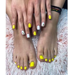 Up to 37% Off on Salon - Brazilian Straightening Treatment (Application) at D' pelos beauty salon spa