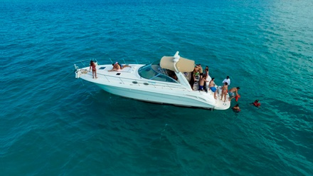 Up to 83% Off on Yacht or Boat Tour & Party, in Miami Beach with Captain & Champagne
