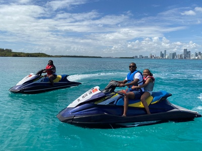 One 60- or 90-Minute Jet Ski Rental at Miami Beach Jet Ski Rentals (Up to 91% Off)