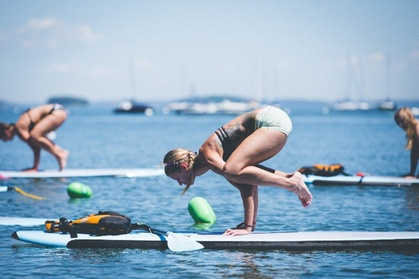 Book Now: $30 for Yoga Paddleboard Class from Flovibez Adventure Tours ($40 Value)