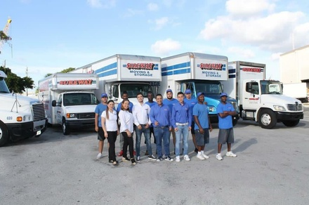 Moving Services from Sureway Moving & Storage (Up to 58% Off). Two Options Available.
