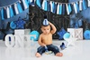 Up to 88% Off In-Studio First Birthday Cake-Smash Photo Shoot