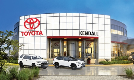 Up to 56% Off on Automotive Oil Change at Kendall Toyota