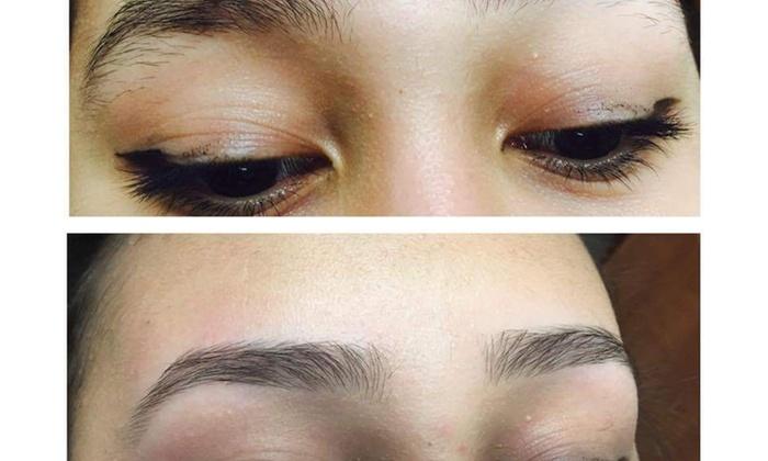 Eyebrow Shaping - Classic Eyebrows Threading and Henna Tattoo   Groupon