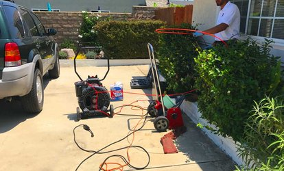 49% Off Drain Cleaning