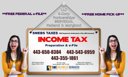 $75 for $150 Worth of Services — SMEBS TAXES