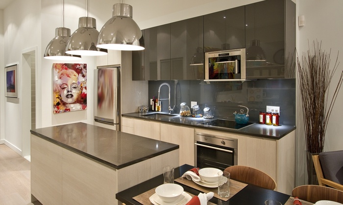 50% Off A Custom Kitchen Design Package And Consultation