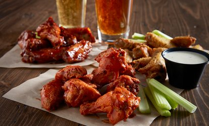 40% Off Sports Bar Fare