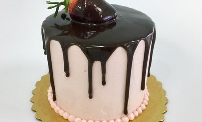$30 for a 6-Inch Drip Cake at All Things Cake ($60 Value)