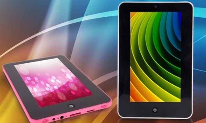 TekneStore: $59.990 en vez de $149.990 por tablet PC TekneStore de 8 GB con despacho. Elige color
