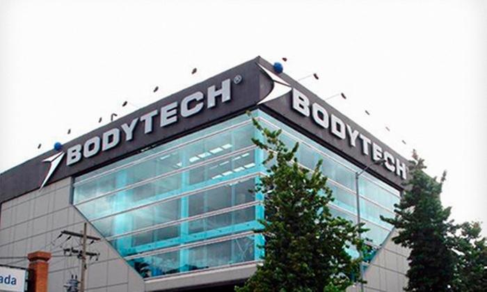 BODYTECH®: Desde $85.000 por inscripción mensual, trimestral o semestral en categoría Classic paraBodytech®