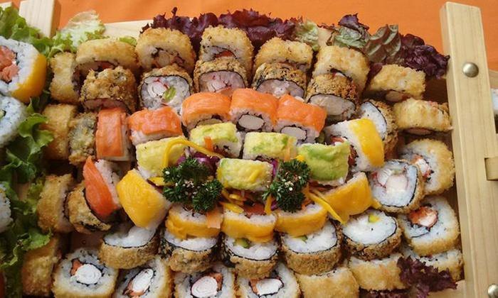 Sudoku Sushi & Wok: 12, 24 o 48 bocados de sushi + bebidas en Sudoku Sushi & Wok