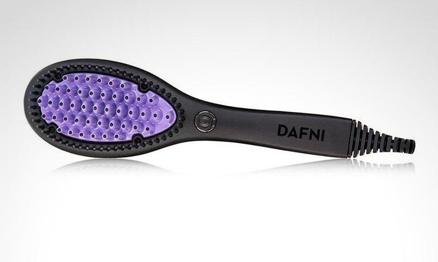 Shopping Colombia: Cepillo eléctrico para alisar el cabello con puntos de cerámica. Incluye envío