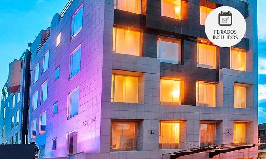 Richmond Suites (RNT: 3975): Bogotá: desde $139.000 por 1 o 2 noches para dos + desayuno buffet + late check out con opción a plan romántico en Richmond Suites