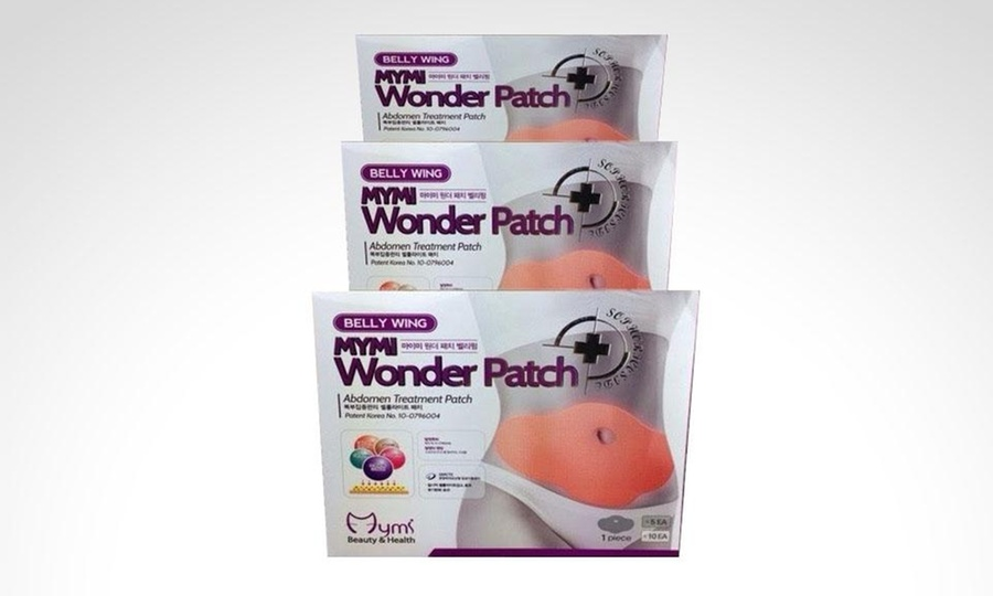 All Things Store: 5 o 10 parches reductores para abdomen Wonder Patch Belly. Incluye envío