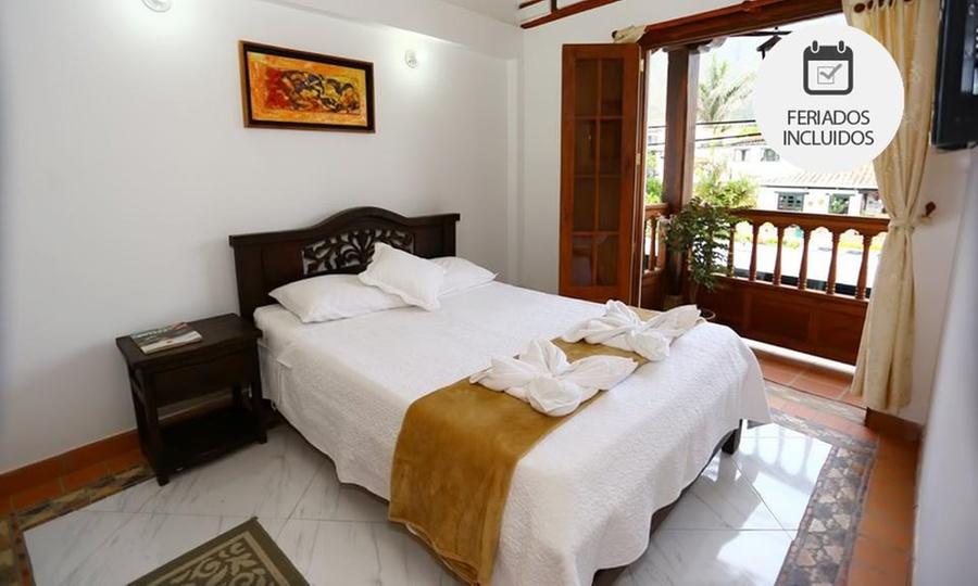 Hotel Casa Cantabria (RNT: 43893): Villa de Leyva: desde $75.900 por 1, 2 o 3 noches para dos + desayuno con opción a plan romántico en Hotel Casa Cantabria