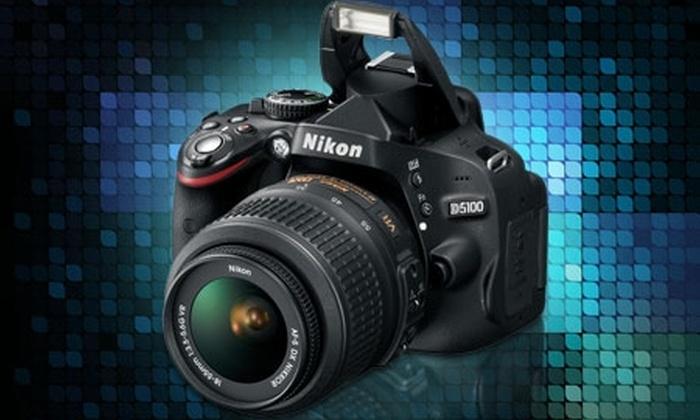 Groupon Shopping (Cámara Nikon): $479.000 por cámara digital Nikon D5100 con despacho