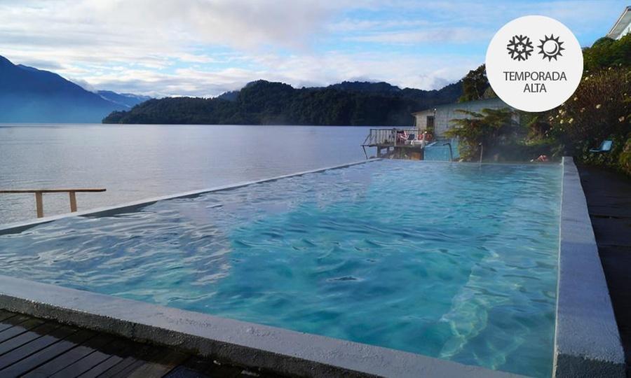 Termas de Llancahue: 2, 3 o 4 noches para 2 + pensión completa + acceso a piscinas termales + navegaciónen Termas de Llancahué