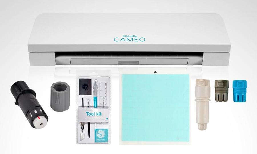 Groupon Shopping: Impresora de corte Cameo 3 + kit de inicio Silhouette. Incluye despacho