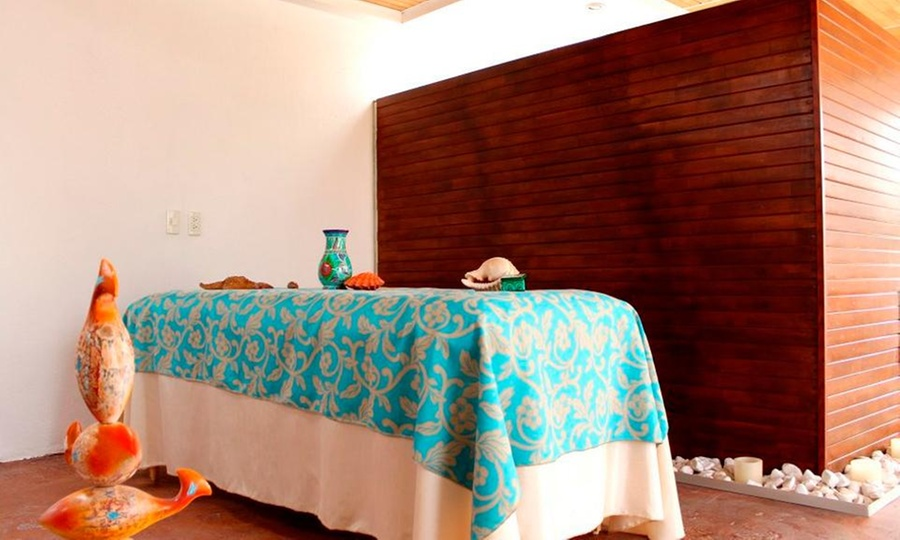 Porta blanca Spa: Sesión spa sauna + masaje en cuerpo completo + exfoliación de chocolate con opción a facial para uno o dosen Porta Blanca Spa