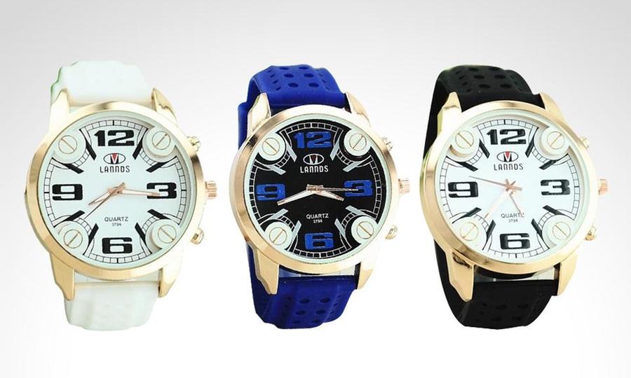 Shopping México: Reloj Lannds Sport en color a elegir. Incluye envío