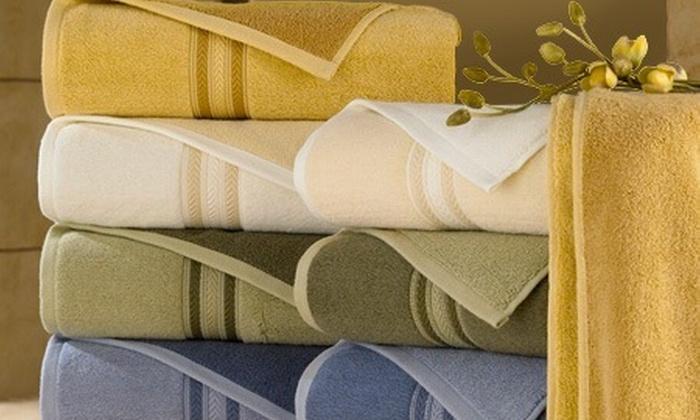 : Paga $41.150 en vez de $82.300 porestuche de toallas doble faz con envío en Karytex