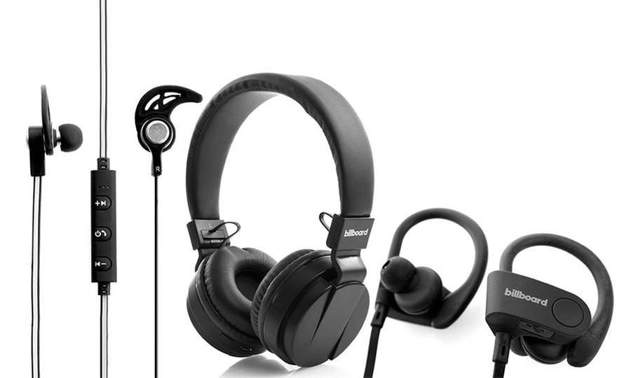 Groupon Shopping: Audífonos Bluetooth marca Billboard en modelo a elección. Incluye despacho