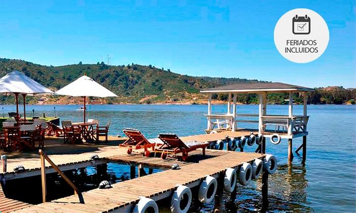 Cabañas La Puntilla: Lago Rapel: 1, 2 o 3 noches para 4 personas en Cabañas La Puntilla