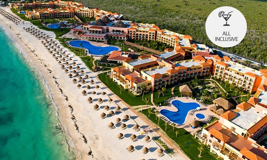 Ocean Coral & Turquesa: Riviera Maya: desde $6,999 por 2, 3, 4 o 5 noches para dos + all inclusive las 24 horas + Resort Credit en Ocean Coral & Turquesa