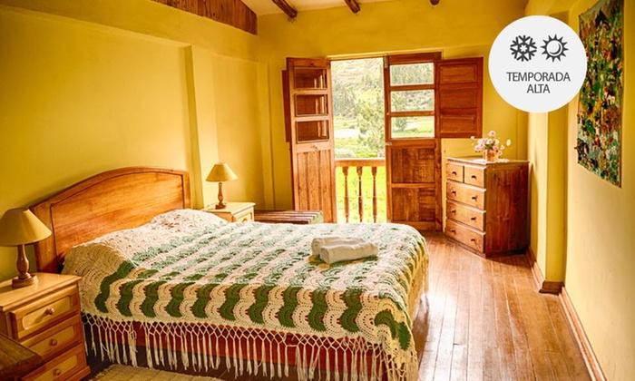 Hacienda La Florida - Hacienda La Florida: Tarma: desde S/.239 por 2, 3, 4 o 5 noches para dos + desayunos en Hacienda La Florida. Elige habitación