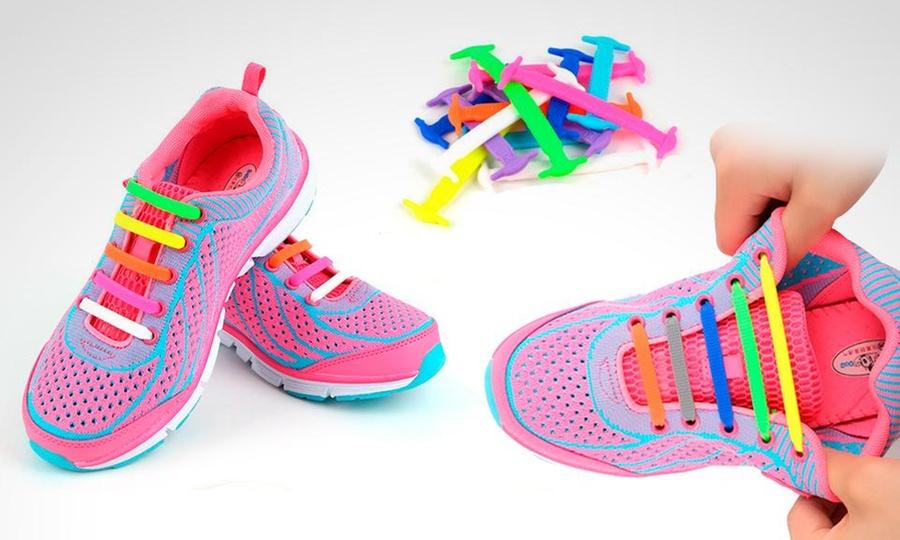 All Things Store: 1 o 2 packs de agujetas Shoelazys unisex en color a elegir. Incluye envío
