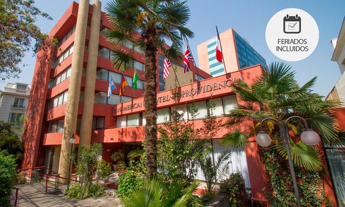 Panamericana Hotel Providencia - Panamericana Hotel Providencia: Desde $49.900 por 1 o 2 noches para dos + desayuno buffet + cena de bienvenida + late check out en Panamericana Hotel Providencia