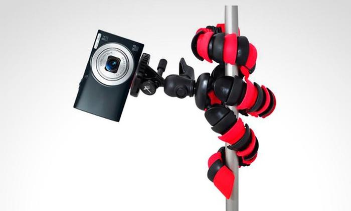 """SHOPPING MÉXICO: Tripie flexible de 12"""" para action cam o cámara digital. Incluye envío"""