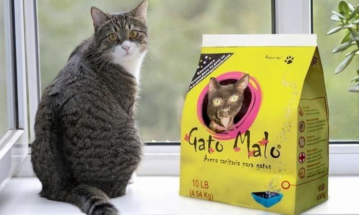 Shopping Colombia: 30 kilos de arena sanitaria para gatos marca Gato Malo con envío