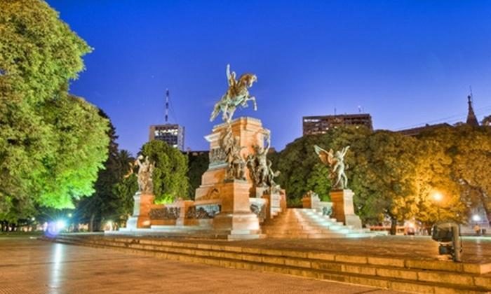 Groupon Travel (Buenos Aires): Fin de semana en Buenos Aires: 3 noches para dos en Hotel Dazzler Suites Arroyo + aéreos + desayunos pagando desde $185.000 por persona. Elige fecha de salida