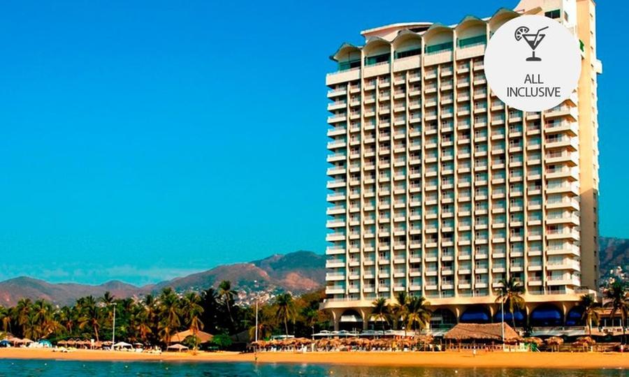 Krystal Beach Acapulco: Acapulco: 2, 3, 4 o 5 noches para 2 personas con all inclusive en Krystal Beach Acapulco