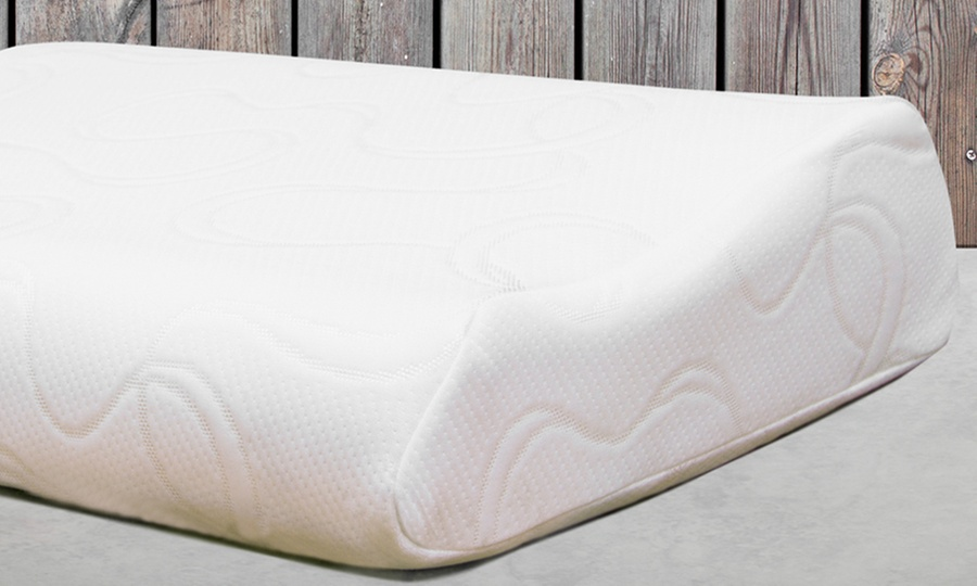 Groupon Shopping: 1, 2 o 4 almohadas cervicales Memory Pillow Foam Premium. Incluye envío