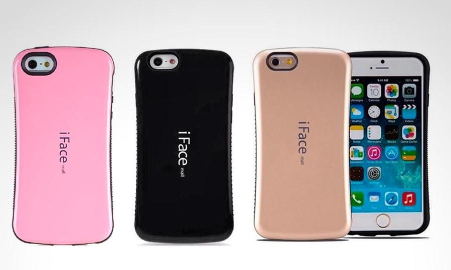 Pimp Your Cell: Case iFace para iPhone o Samsung en modelo y color a elección