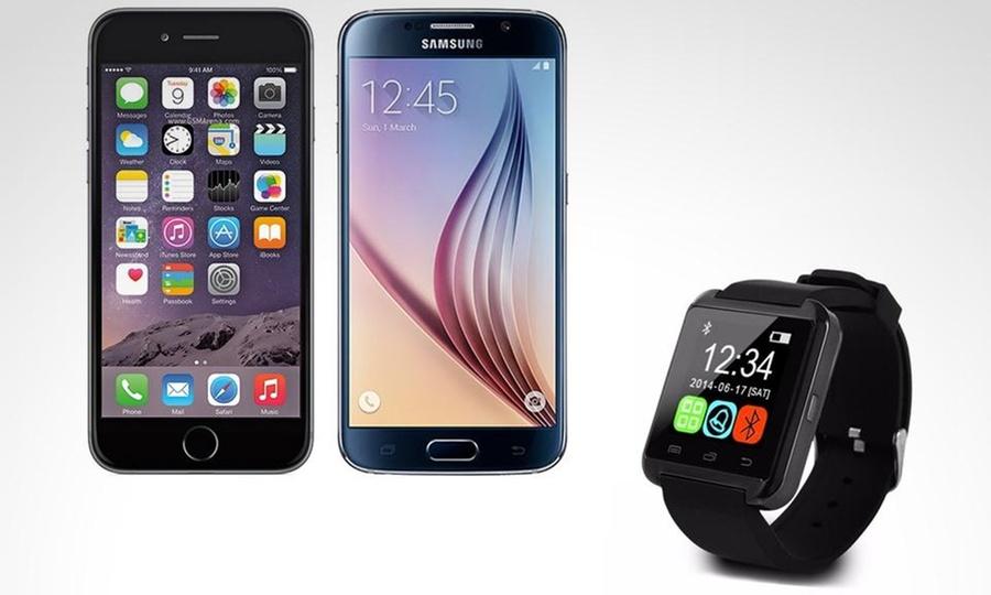 Otto Ware: SmartWatch Bluetooth con pantalla táctil LCD para smartphone con Otto Ware