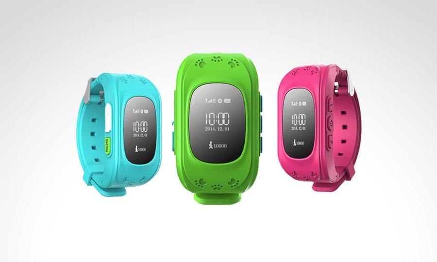 Shopping México: Phone & Smartwatch GPS rastreador para niños en color a elegir. Incluye envío