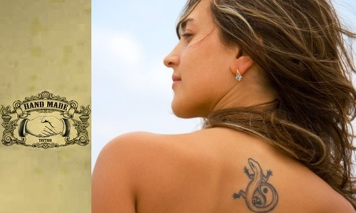 : Tatuaje de 5x5 con 65% off en Hand Made Tattoo