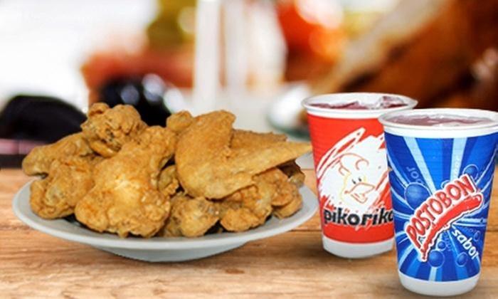 PIKO RIKO: Desde $15.900 por 16 o 32 alitas de pollo con salsa a elección + bollos de maíz + gaseosasen PikoRiko