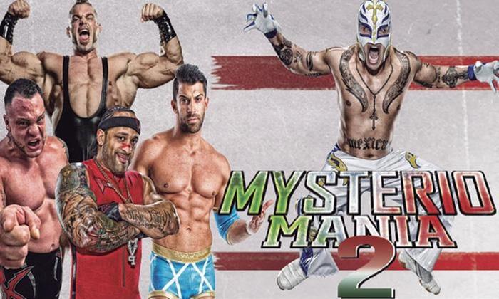 GrouponLive: Desde $10.500 por entrada a elección para Lucha Libre: Mysteriomania 2 con Rey Mysterio en Estadio Sokol