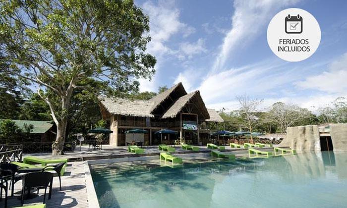 Hotel Amazon (RNT 28444): Amazonas: desde $169.000 por1, 2, 3 o 4 noches para dos todo incluidoen Hotel Amazon