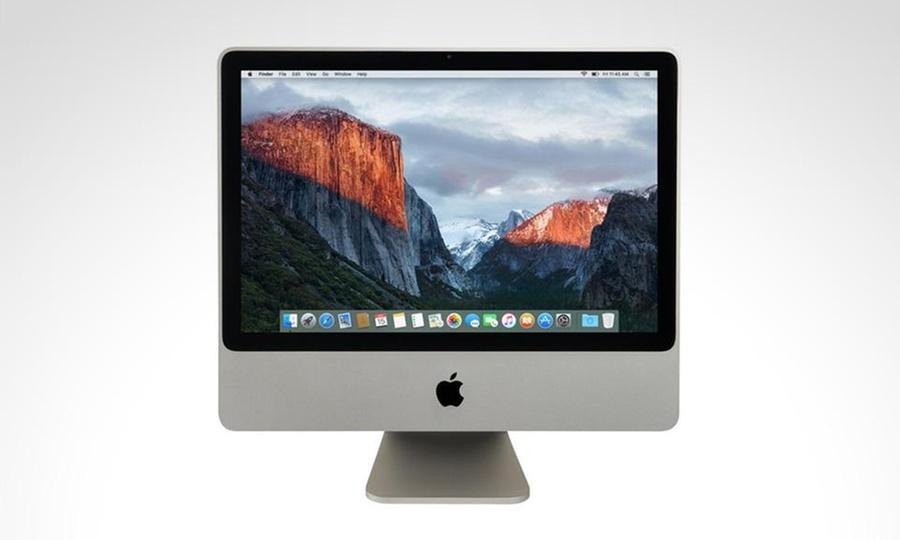 Shopping México: iMac 20 Core 2 Duo con 160GB y disco duro MC015LLA reacondicionada