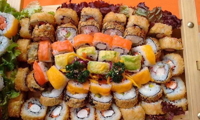 Sudoku Sushi & Wok: Desde $29.900 por barco con 20 o 40 bocados de sushi + bebidas en Sudoku Sushi & Wok